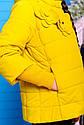 Куртка весенняя для девочки «Миледи», цвет горчица Размеры 32 34, фото 3