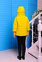 Куртка весенняя для девочки «Миледи», цвет горчица Размеры 32 34, фото 4