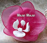 МИЛО МЫЛО ручной работы, Орхидея на подставке, аромат цветочный