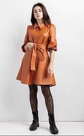 Платье -рубашка эко-кожа женское, фото 1