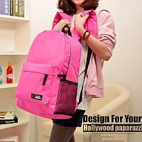 Рюкзак SMT Хит продаж !! В наличии Цвет розовый,Оригинал,высококачественный ,фабричный