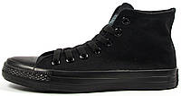 Мужские высокие кеды Converse Chuck Taylor All Star High Black конверс чак тейлор олл старс черные