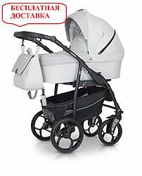 Детская универсальная коляска 3 в 1 Verdi Max Plus 04 Light Grey