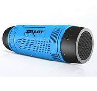 Мобильная Колонка SPS S1 с фонариком, голубой как на фото! Топ Продаж