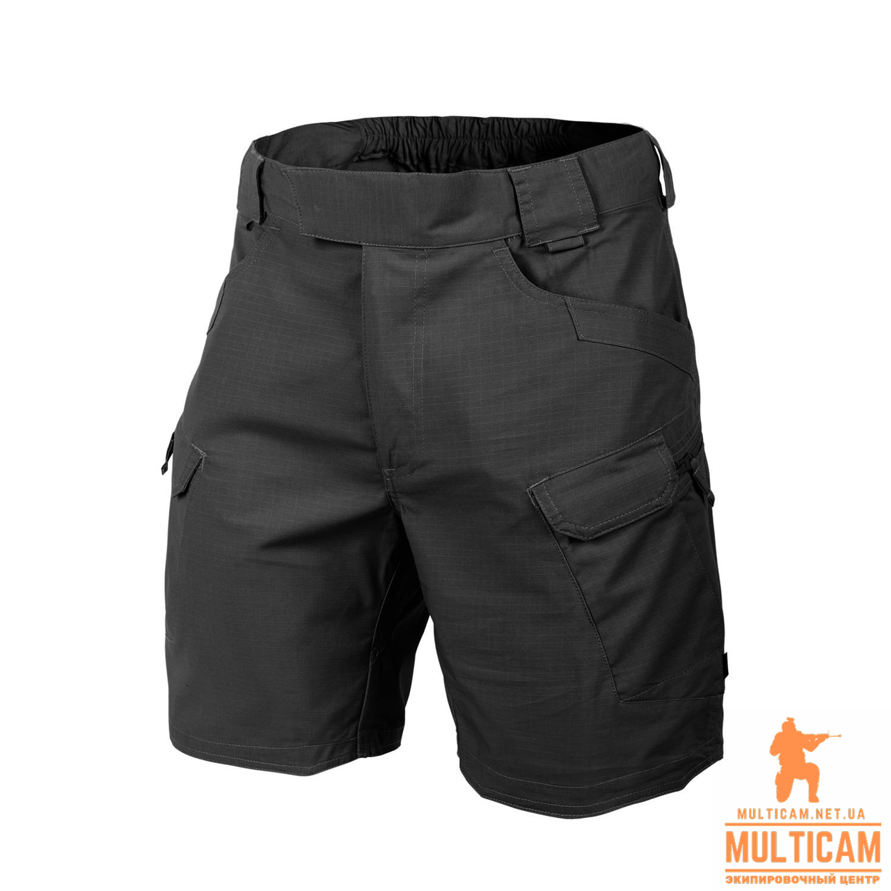 "Шорты Helikon-Tex® UTS (Urban Shorts®) 8.5""® - PolyCotton Ripstop - Черные"