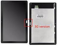 """Дисплейный модуль (экран и сенсор) для Huawei MediaPad T5 10.0"""" версия 3G, черный, оригинал"""