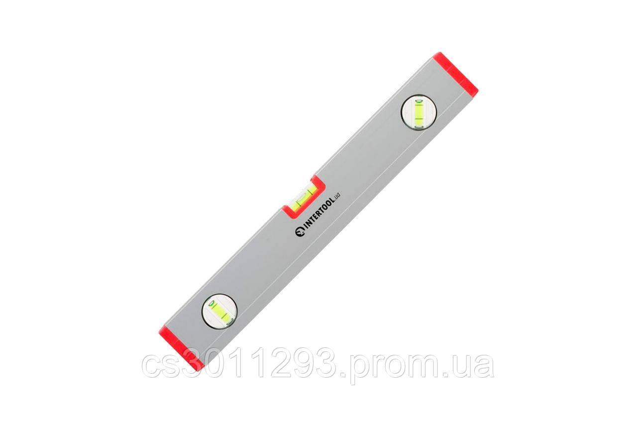 Уровень Intertool - 400 мм 3 глазка (22 x 59 мм) PROF