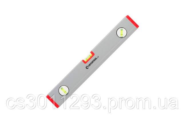 Уровень Intertool - 400 мм 3 глазка (22 x 59 мм) PROF, фото 2