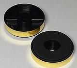 Ніжка пластикова №13 (ф40/ф40, h10 мм), під золото, фото 3
