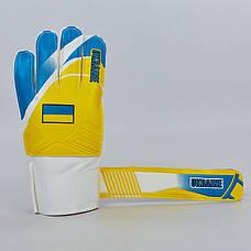 Перчатки вратарские FB-0187-4 UKRAINE  (8), фото 3