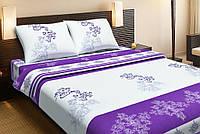 Постельное белье Lotus Ranforce Royal фиолетовый двуспального размера