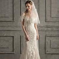 Весільна сукня рибка Свадебное платье рыбка ручная работа из кружева. Колекція 2020