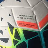 Мяч футбольный Nike Merlin - FA19 SC3635-100 (размер 5), фото 7