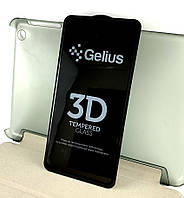 Xiaomi Redmi Mi 9T, Mi 9T Pro K20, K20 Pro защитное стекло на телефон противоударное Gelius 5D full glue black черное