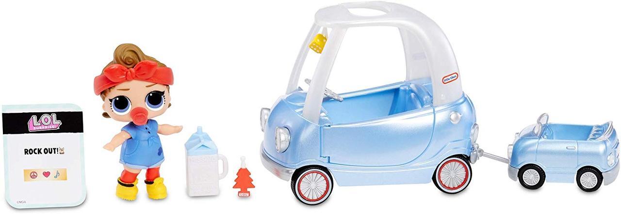 ЛОЛ Сюрприз! Путишествие на Авто и Техно Леди  L.O.L. Surprise! Furniture Road Trip with Can Do Baby