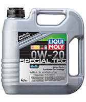 Моторное масло Liqui Moly Special Tec AA 0W-20 (4л)