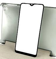 Samsung A10, A105 защитное стекло на телефон противоударное Gelius 5D full glue Black черное