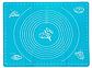 Коврик силиконовый для мастики и выпечки  с разметками 45*35, фото 5