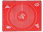 Коврик силиконовый для мастики и выпечки  с разметками 45*35, фото 2