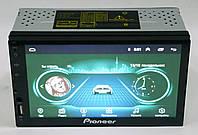 Автомагнитола пионер Pioneer 7002 2din Android 8.1 GPS+WiFi+4Ядра