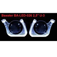 Маска для линз Baxster BA-LED-026 2,5' U-3 2шт  (27540)