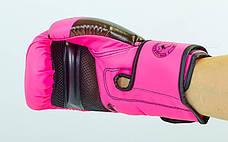 Перчатки боксерские VENUM CHALLENGER BO-5698 (12 унции, Розовый), фото 3