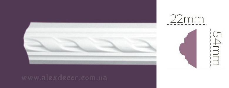 Молдинг Home Decor 1329 (54x22)мм
