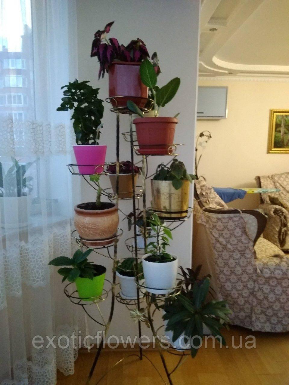 """Подставка для тяжелых цветов на 12 чаш """"Башня-8"""""""