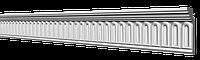 Потолочный плинтус GP-74 из полистирола. Декоративный багет 64х28мм. Потолочный карниз молдинг.