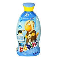 """Детский шампунь, гель для душа, пена для ванн """"Bobini"""" Sensitive 3 в 1  400мл"""