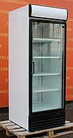 """Холодильная шкаф-витрина """"Frigoglass"""" (Россия), LED-подсветка, полезный объем 700 л. Б/у"""