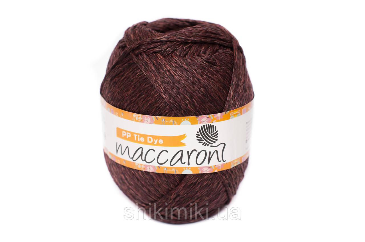Трикотажный шнур PP Tie Dye, цвет Марсала