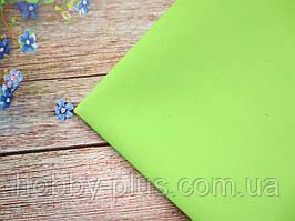 Фоамиран 1 мм, 50х50 см, цвет СВЕТЛО-САЛАТОВЫЙ