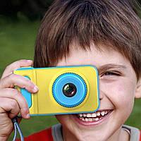 Детский улучшеный цифровой фотоаппарат фотокамера Smart Kids Camera V7 (Живые фото!)