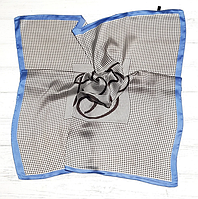 Шелковый шейный платок Fashion Мадлен 70х70 см КС 20-058, фото 1