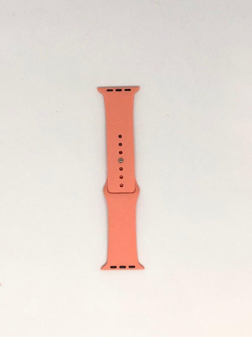 """Ремешок Apple watch 42/44 mm - """"Персиковый №27"""""""