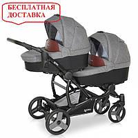 Детская универсальная коляска для двойни Verdi For 2 03