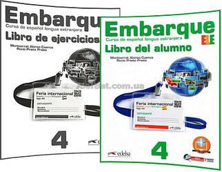 Испанский язык / Embarque / Libro+de ejercicios. Учебник+Тетрадь (комплект), 4/ Edelsa