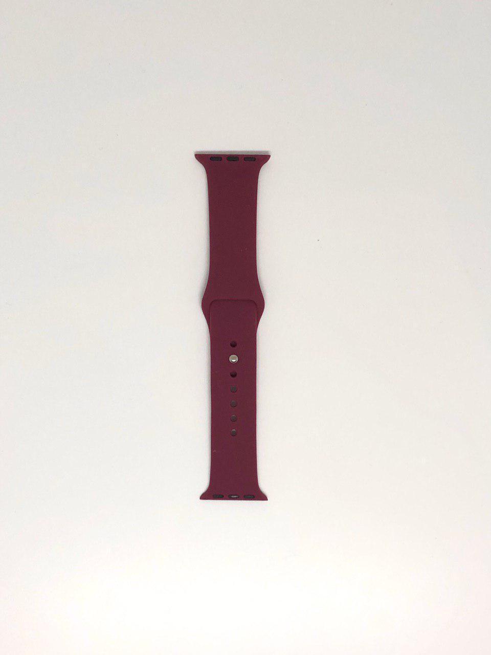 "Ремешок Apple watch 38/40 mm - ""Марсала №52"""