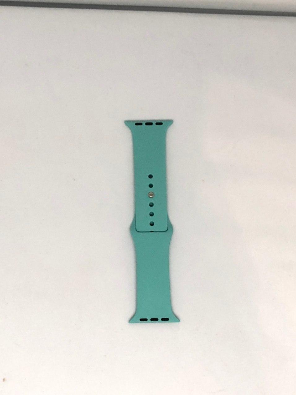 "Ремінець Apple watch 38/40 mm - ""Зелена лагуна №21"""