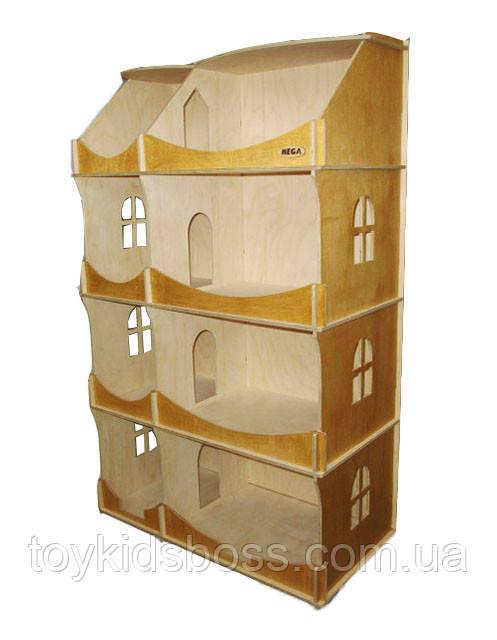 Кукольный домик-шкаф  Hega тонированный (091)