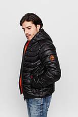 Куртка демисезонная Vavalon KD-919 Black, фото 3