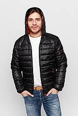 Куртка демисезонная Vavalon KD-919 Black, фото 2