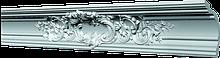Потолочный плинтус GP-75 из полистирола. Декоративный багет 141х141мм. Потолочный карниз молдинг.