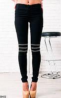 Женские брюки классические черные 39455