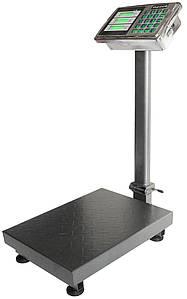 Весы торговые электронные напольные  на 300 кг 40х50