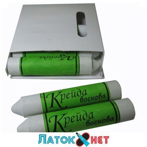 Мел восковый белый 18 мм Украина