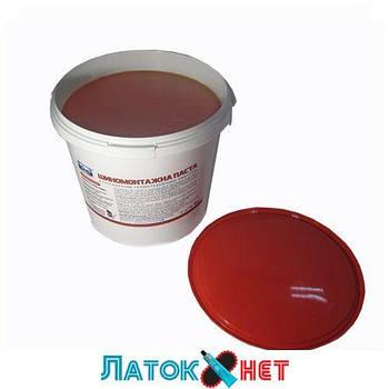 Монтажная паста красная с герметиком 5кг Украина