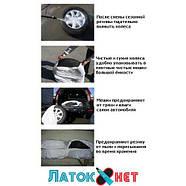 Пакет для шин 96 см х 110 см х 20 мкр Eurocord Украина, фото 3