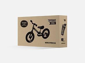 Беговел Trybike двухколесный Черный (TBS-2-BLK-ALL), фото 3